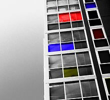 office building (after Mondrian) by Robert Mehigan