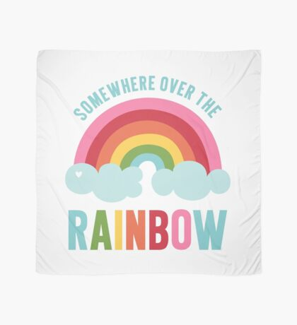 Somewhere Over the Rainbow Scarf