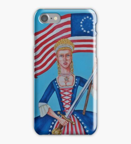 Lady Liberty iPhone Case/Skin