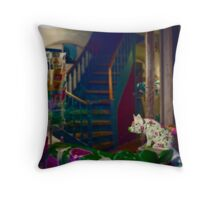 One little Piggy did not go to the Market Throw Pillow