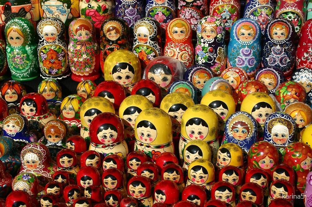 Russian Nesting Dolls by karina5