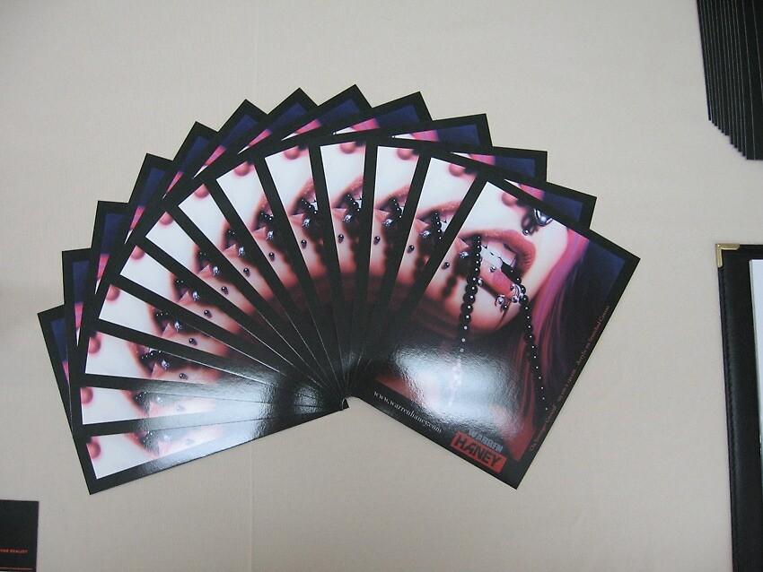 My Promo Art Cards by Warren Haney