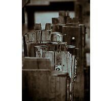 Barriers Photographic Print