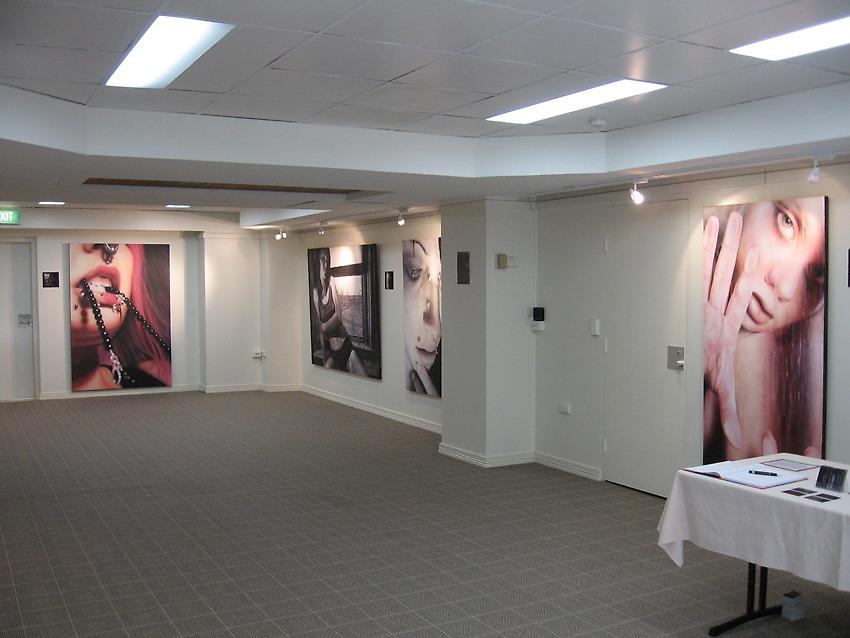 Paintings under lights !! 5 by Warren Haney
