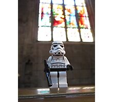 Dave Stormtrooper at Church Photographic Print