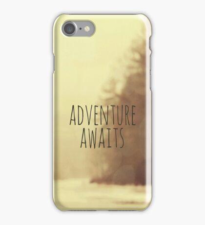 Adventure Awaits II iPhone Case/Skin