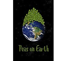Peas on Earth ... Photographic Print