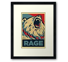 RageBear For President Framed Print