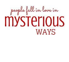 Mysterious Ways by Diana Sénèque