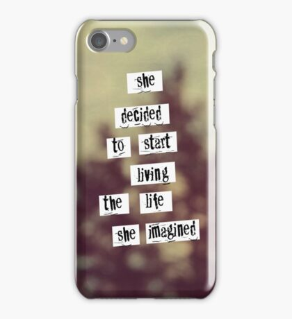 Her Life  iPhone Case/Skin