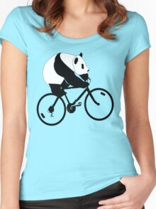 Panda Down Under 2 Women's Fitted Scoop T-Shirt