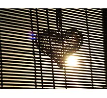 """""""H"""" for Heart Photographic Print"""