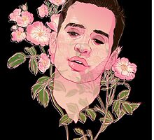 Floral Brendon Urie  by spencejsmith