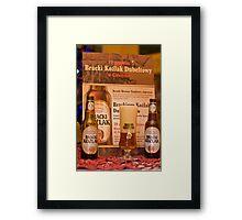 Offers good beer!!! Framed Print