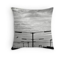 Be different..  Throw Pillow