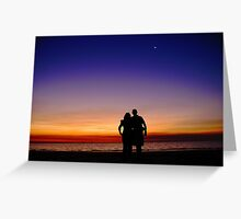 Mindl Sunset Greeting Card