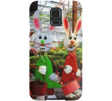 Bunnies with Baskets...Easter is Coming! Samsung Galaxy Case/Skin