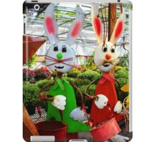 Bunnies with Baskets...Easter is Coming! iPad Case/Skin