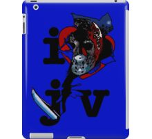 i <3 jv iPad Case/Skin