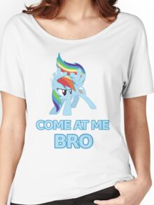 Dash At Me Bro Women's Relaxed Fit T-Shirt