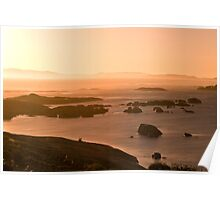 William Bay Sunset Poster