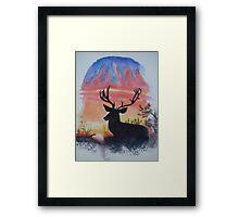 Sunrise Alert Framed Print