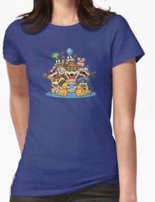 Koopa family Womens Fitted T-Shirt