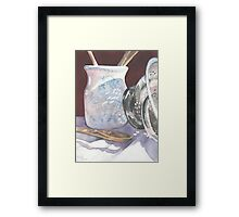 Kitchen Reflections Framed Print