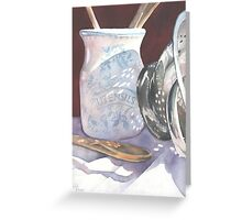 Kitchen Reflections Greeting Card