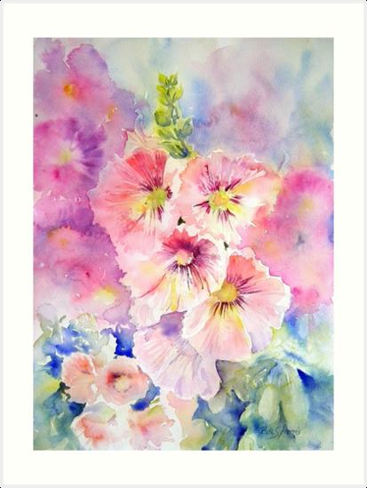 Cottage Garden Summer by Ruth S Harris