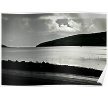 Odd light on Dingle Bay Poster