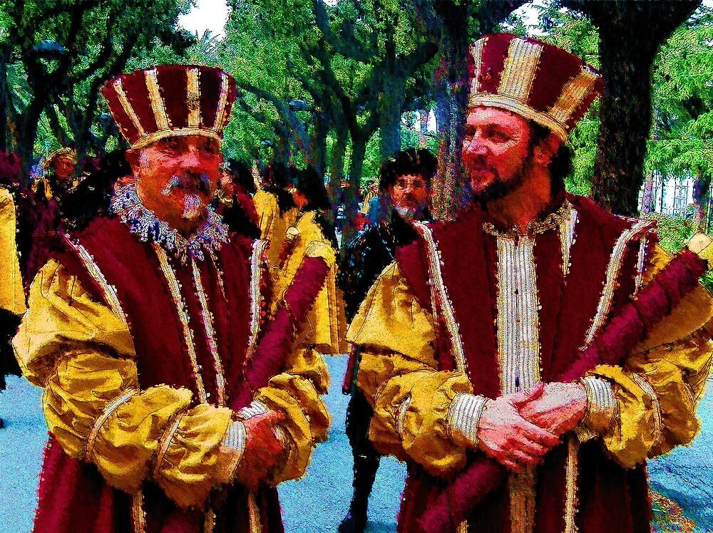 Corteo storico di Carlo V by francescosessa