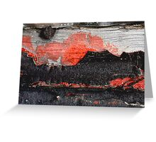 Volcano ErupTion sinks Luxury Liner Greeting Card