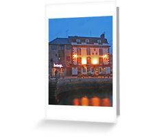 Barbican reflections Greeting Card