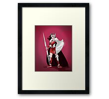 Warrior Goddess Framed Print