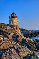 Castle Hill Lighthouse -Rhode Island by JHRphotoART