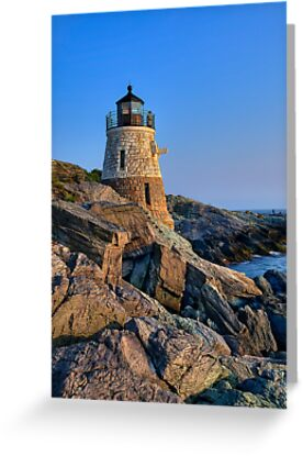 Castle Hill Lighthouse -Rhode Island by JHRphotoART