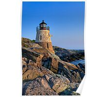 Castle Hill Lighthouse -Rhode Island Poster