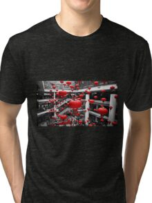 Red Collection - Lanterns Tri-blend T-Shirt