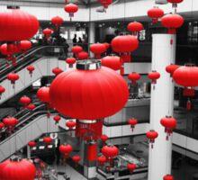 Red Collection - Lanterns Sticker