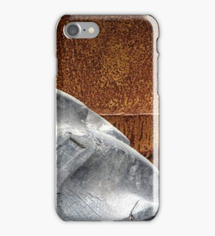 12.6.2015: Old, Cracked Tire iPhone Case/Skin