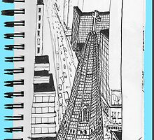NYC-Rooftop view from The Peninsula by James Lewis Hamilton