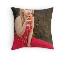 She Lives in a Fairytale 08 Throw Pillow