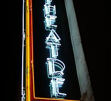 Theatre Sign by Rachael Rose
