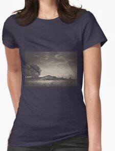 When The Wind Blows Womens Fitted T-Shirt