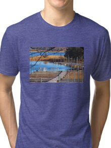 Closed for the Winter Tri-blend T-Shirt
