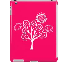 Sunshining Day (white print) iPad Case/Skin