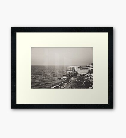Once Upon A Time by the Sea Framed Print