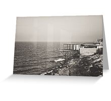 Once Upon A Time by the Sea Greeting Card
