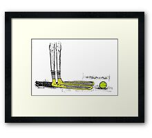 Can You Guess the Cartoodle? Framed Print
